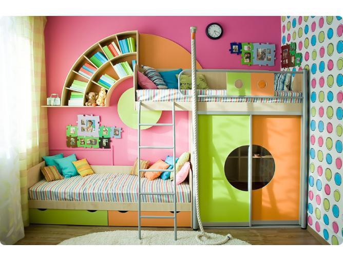 Детская комната Выше радуги