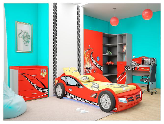 Детская комната Formula (красная)