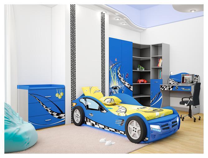 Детская комната Formula (синяя)