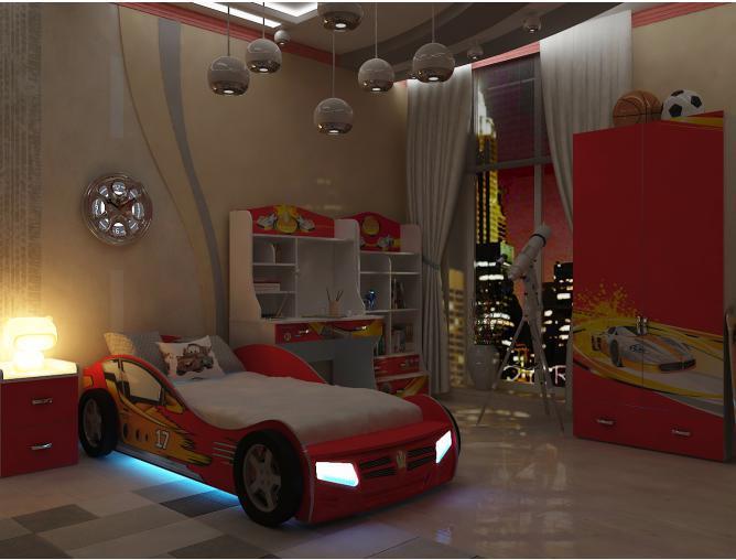 Детская комната Champion (красная)