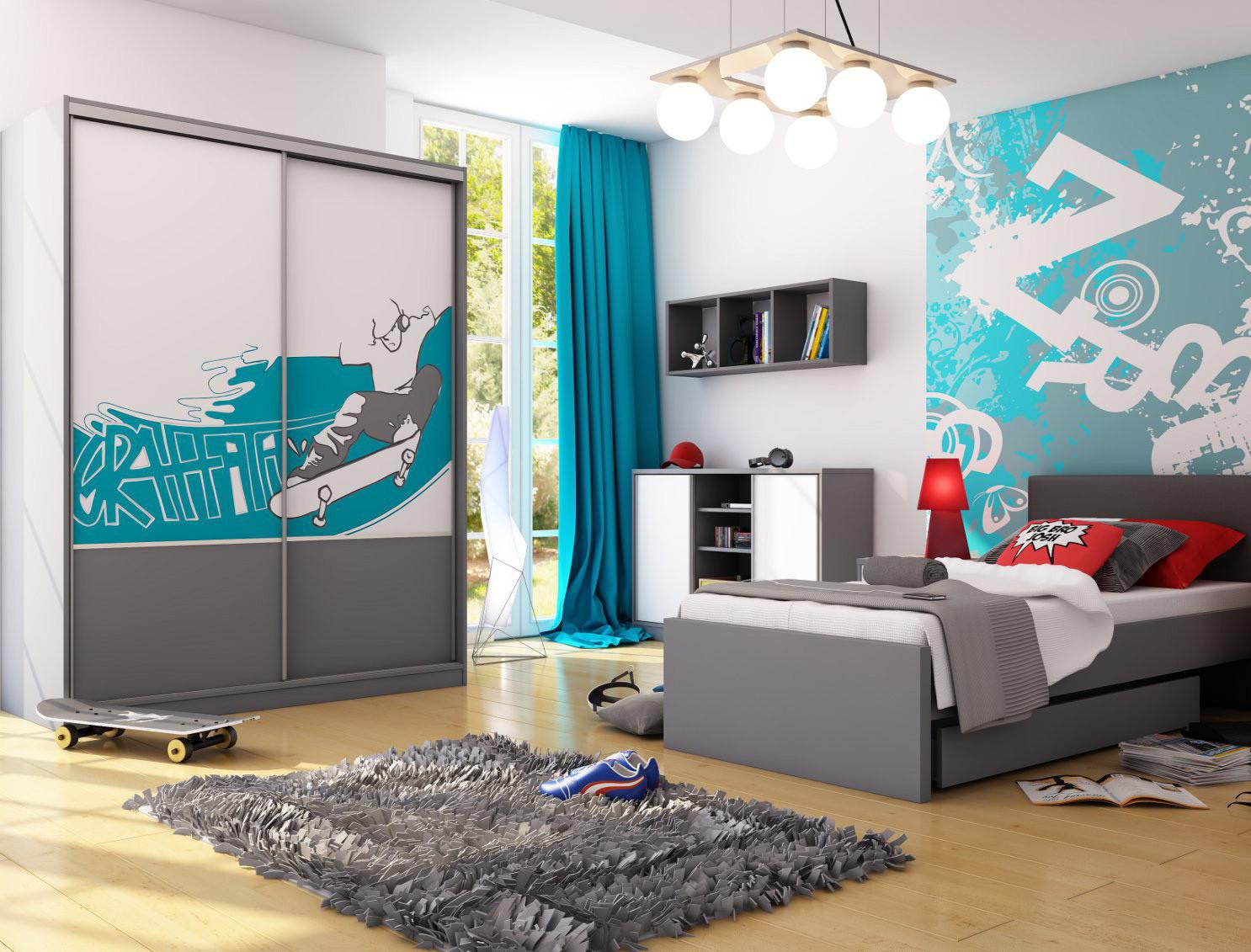 способность дизайн молодежной комнаты с фотообоями сколько