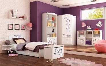 Детская комната Орхидея Фиолет изображение 2