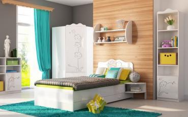 Детская комната Орхидея Серебро изображение 2