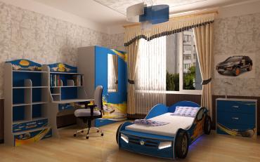 Детская CHAMPION (синяя) изображение 10