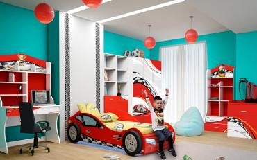 Детская LA-MAN (красная) изображение 2