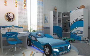 Детская CHAMPION (синяя) изображение 3