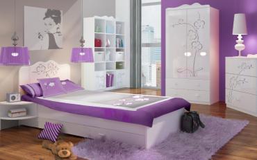 Детская комната Орхидея Серебро