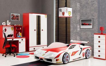 Детская комната Turbo Ferrari