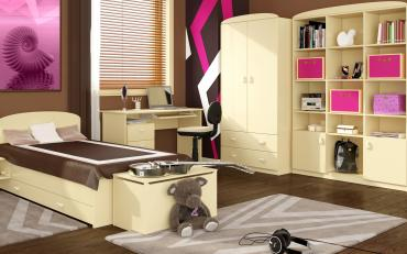 Детская комната Ваниль
