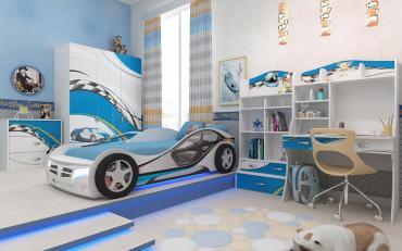 Детская LA-MAN (синяя) изображение 3