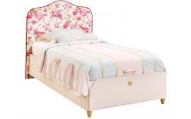 Кровать с подъемным механизмом, с обивкой изголовья Flora 100x200 (1706)