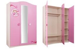 Шкаф 3-х дверный Princess (1002)