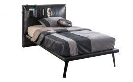 Кровать Dark Metal L 100х200 (1301)