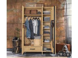 Шкаф 3-х дверный Wood Metal (1002) изображение 2