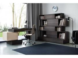 Стол письменный L с комодом узким HiFi изображение 3