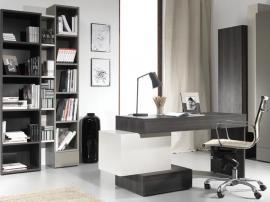 Стол письменный L с комодом узким HiFi изображение 2
