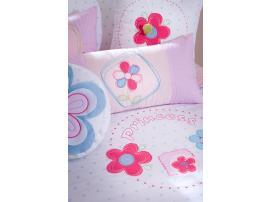 Комплект постельных принадлежностей Flora Pink XL 180*210 (4456) изображение 4