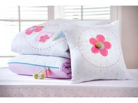 Комплект постельных принадлежностей Flora Pink XL 180*210 (4456) изображение 3