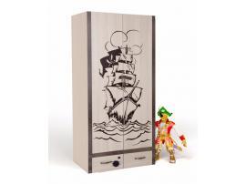 Шкаф 2-х дверный Пират изображение 2