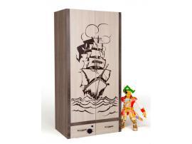 Шкаф 2-х дверный Пират изображение 4