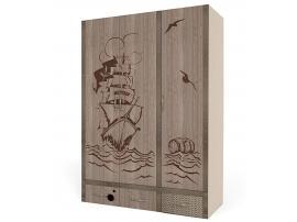Шкаф 3-х дверный Пират изображение 4