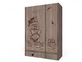 Шкаф 3-х дверный Пират изображение 1