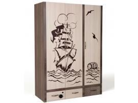 Шкаф 3-х дверный Пират изображение 3