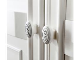 Шкаф 2-х дверный Romantic (1001) изображение 3