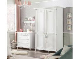 Шкаф 2-х дверный Romantic (1001) изображение 4