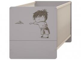 Детская кроватка-трансформер с рисунком 2piR изображение 2