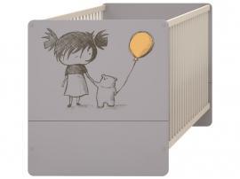 Детская кроватка-трансформер с рисунком 2piR изображение 1