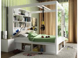 Кровать двуспальная с книжным шкафом 4 You изображение 4