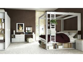 Кровать двуспальная высокая 4 You изображение 2