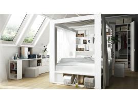 Кровать двуспальная высокая 4 You изображение 4