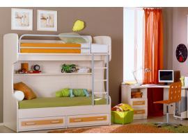 Кровать двухъярусная 2ящ. Катрин изображение 2