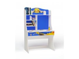 Стол с надстройкой Champion (синяя)