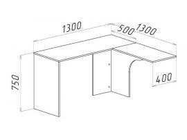 Стол угловой Нордик Фреш изображение 2