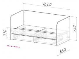 Кровать-диван Оксфорд изображение 2