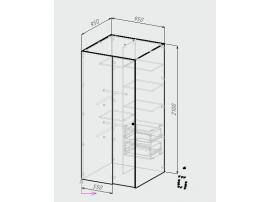 Шкаф-гардероб Оксфорд изображение 7