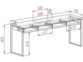 Стол c ящиками Loft изображение 2