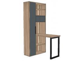 Стол со стеллажом Loft изображение 1