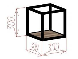 Полка-куб Loft изображение 2