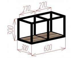 Полка-куб 2 Loft изображение 2