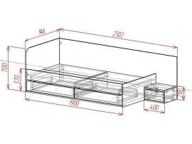 Кровать Loft изображение 2