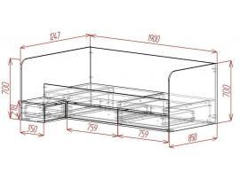 Кровать 2 Loft изображение 2