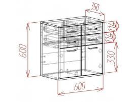 Комод подвесной Loft изображение 2