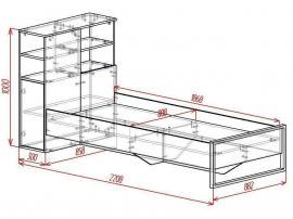 Кровать островная Loft изображение 2