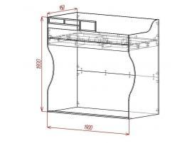 Кровать-чердак Loft изображение 2