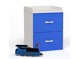 Тумбочка прикроватная Formula (синяя)