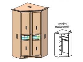 Шкаф Соня с подсветкой 69H035